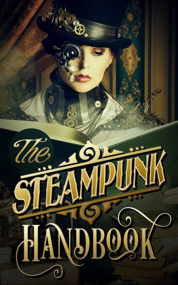 Steampunk Handbook Cover